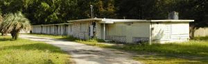 This old motel used to be south of Bayard, Florida